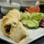 Palak Fish Roll